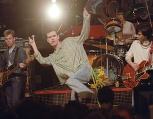 The Smiths on Channel 4 TV show the Tube
