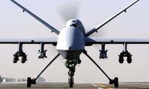 A Reaper UAV (Unmanned Aerial Vehicle)