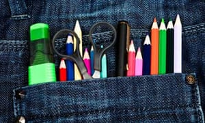Pens in pockets
