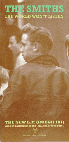 The Smiths : The World Won't Listen LP (February 1987)