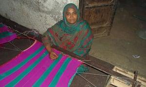 Rasheeda Irshad working in Pakistan