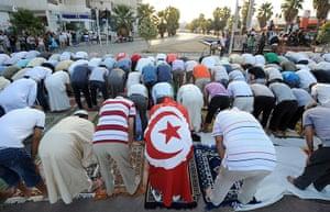 Eid festival: Tunisian people
