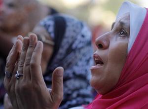 Eid festival: An opponent of Egypt's ousted President Mohammed