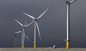 The world's largest wind farm, the London Array project