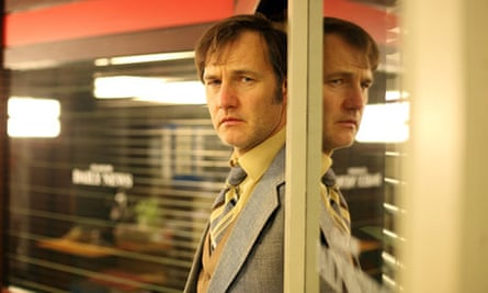 David Morrissey as Murray Devlin in The Field of Blood.