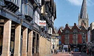 Let's move to Chesterfield, Derbyshire