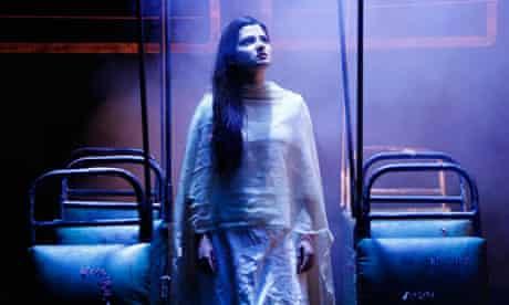 Japjit Kaur in Nirbhaya, a play based on the deadly gang rape of Jyoti Singh Pandey in India.