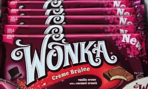 Nestlé Unveils New Range Of Willy Wonka Chocolate Bars