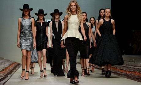 Black And White And Red Dirt All Over As Myer Launches Summer