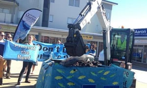 reef protest