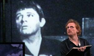 Scott Shepherd in Hamlet