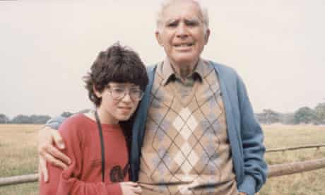 Charlotte Mendelson and grandfather