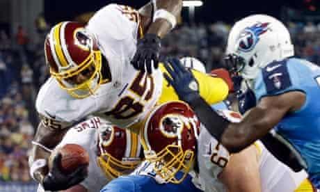 Washington Redskins wide receiver Leonard Hankerson