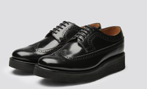 A Grenson brogue with a chunky, wedge sole
