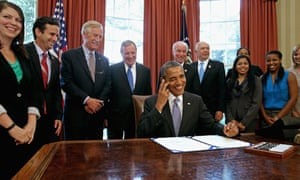 President Obama Signs Student Loan Bill