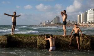 Eid al-Fitr holiday, in Tel Aviv