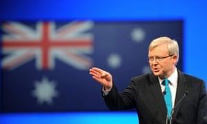 Kevin Rudd said he would not 'stand idly by' as states cut Tafe funding.
