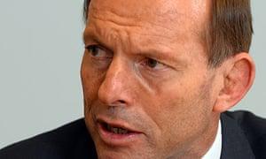 Australian Prime Minister-elect Tony Abbott