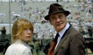 Sissy Spacek and Jack Lemmon in Costa Gavras' 1982 film Missing