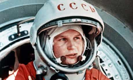 Valentina Tereshkova, first woman in space