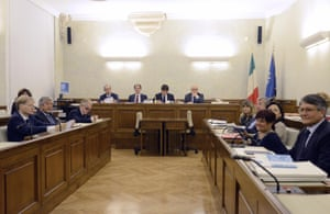 The special committee of the Italian Senate for to consider expelling of Silvio Berlusconi.