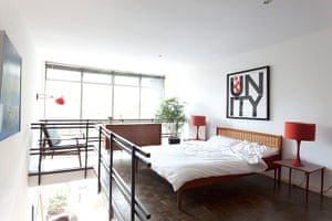 homes - marygate lane: interior of bedroom in sixties house