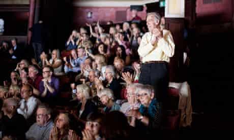 Edinburgh international festival audience clapping