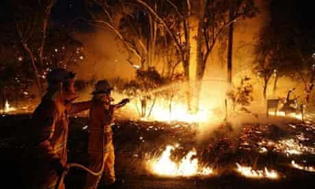 Bushfire near Sydney