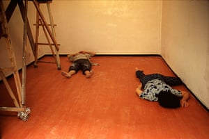 Big Picture - Daydreamers: two men lying on floor sleeping