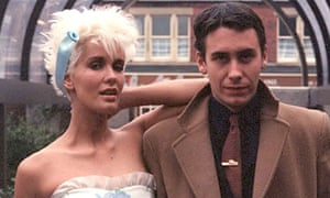 Paula Yates and Jools Holland.