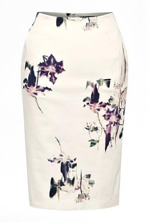 Key trends: Floral Pencil Skirt