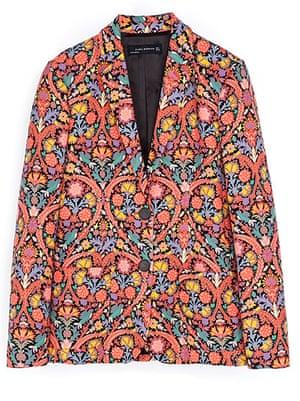 Key trends: Print blazer