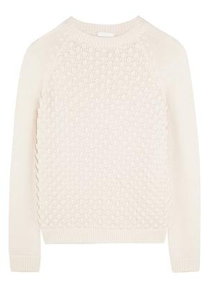 Key trends: Cream jumper