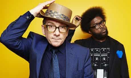 "Elvis Costello and Ahmir ""Questlove"" Thompson"
