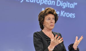 EU commissioner for Digital Agenda Neelie Kroes