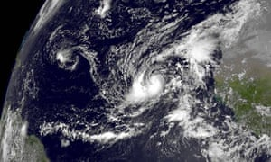 Hurricane Humberto satellite