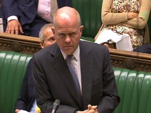 Foreign Secretary William Hague speaks about the Syrian crisis in the House of Commons.