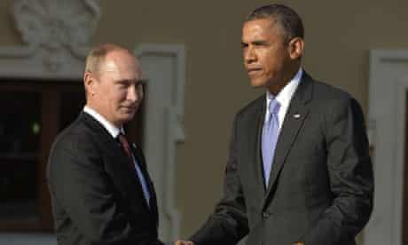 Russian President Vladimir Putin welcome