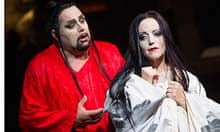 'Well-matched': Marco Berti and Lise Lindstrom as Prince Calaf and Princess Turandot.