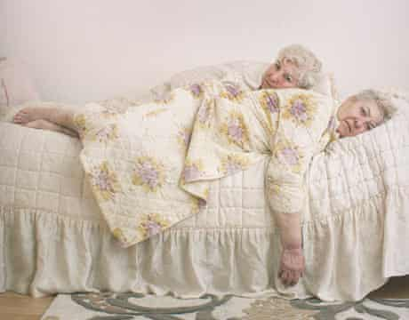 The Twins by Dorothee Deiss, shortlisted for the Taylor Wessing Photographic Portrait  Prize 2013