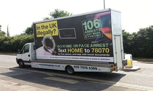 Home Office Go Home van