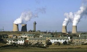 Sellafield nuclear processing plant in Cumbria