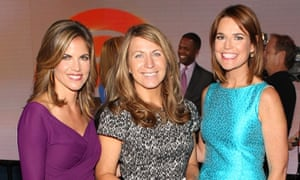 Natalie Morales, Deborah Turness, Savannah Guthrie, Today show, NBC