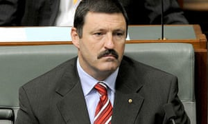 Mike Kelly during House of Representatives question time at Parliament House