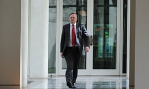 Anthony Albanese walks the corridors ahead of the Labor party Caucus meeting.