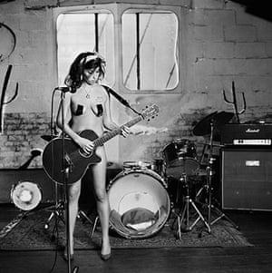 Amy Winehouse at Proud: Caroline Djanogly