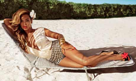 Beyonce in retail brand H&M's summer ad campaign