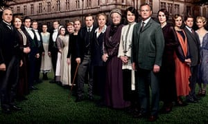 The Downton Abbey cast