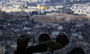 View of the Temple Mount in Jerusalem Old City