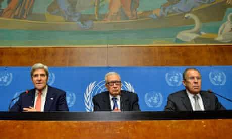 Geneva II meeting on Syria